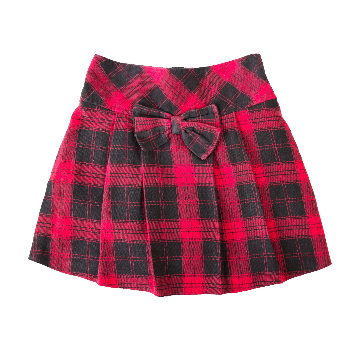 Kids checkered skirt